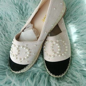 Espadrilles with Pearl